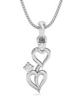 Heart Together Pendant