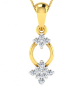 Two Star Pendant