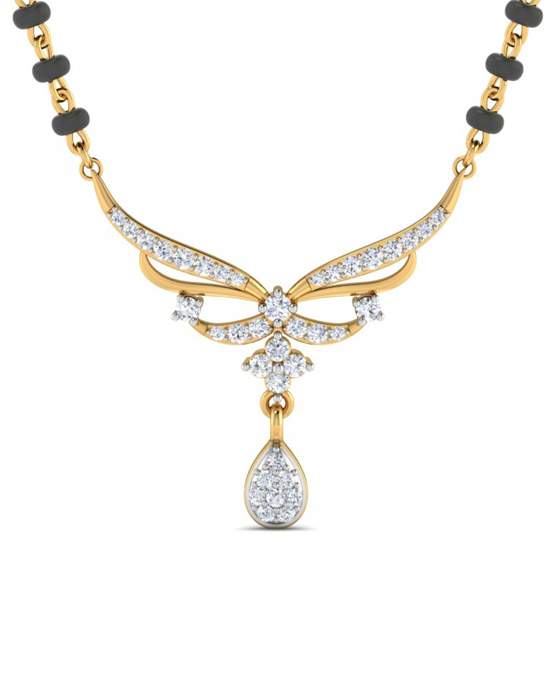 Orchid Mangalsutra