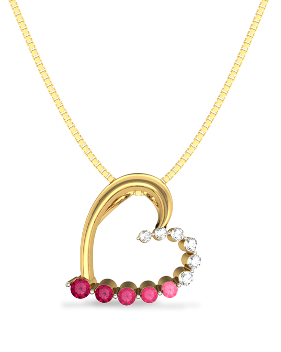 Doted Love Pendant