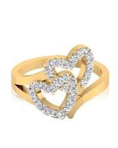 Hearts Together Ring