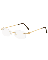 Rimless Plain Gold 115