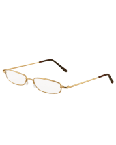 Full Rim Plain Gold 118