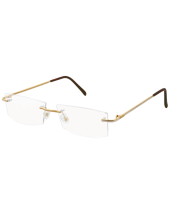 Rimless Plain Gold 127